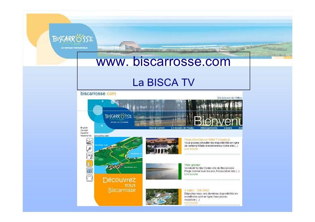 www. biscarrosse.com      La BISCA TV