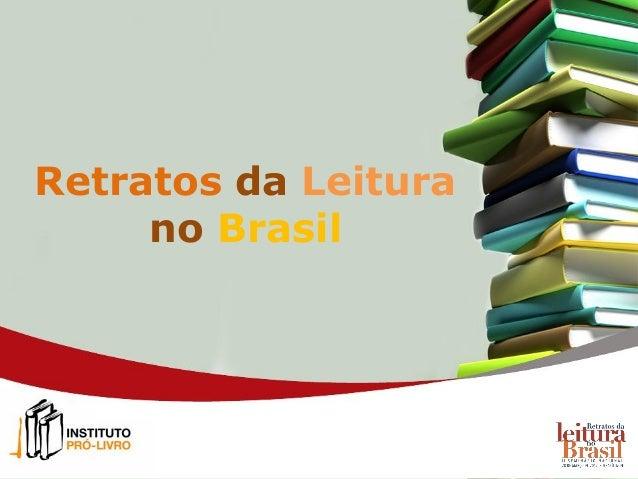 Retratos da Leiturano Brasil