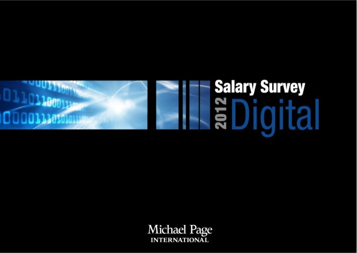 3   Michael Page                                                                                   Salary Survey 2012 - Di...