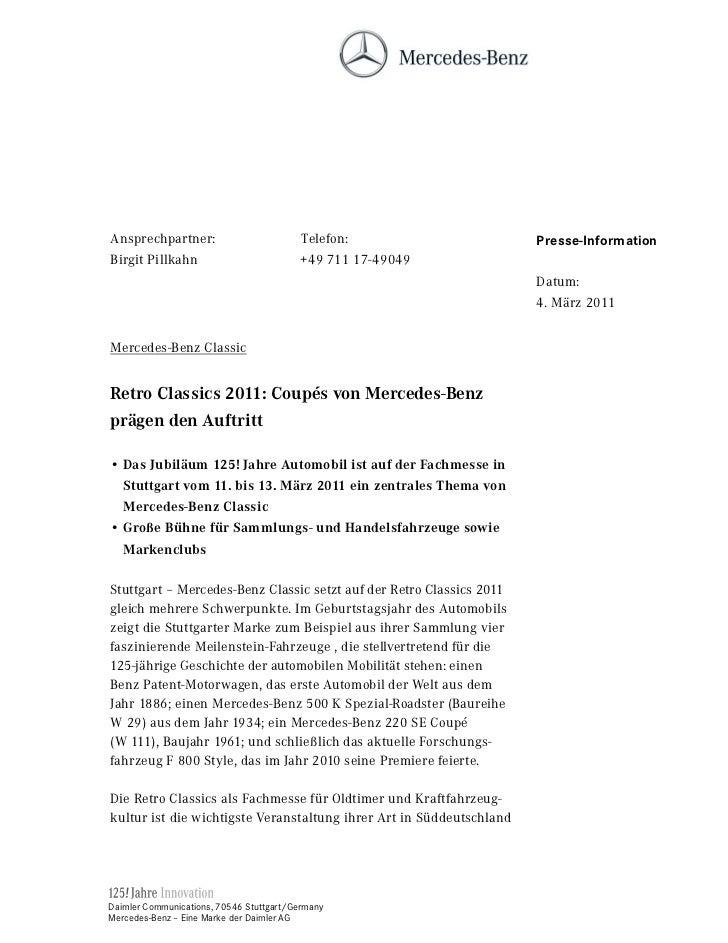 Ansprechpartner:                          Telefon:                    Presse-InformationBirgit Pillkahn                   ...