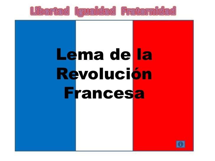 Ejercicio Revolucion Francesa