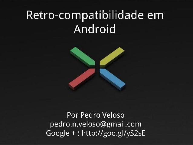 Retro-compatibilidade em Android