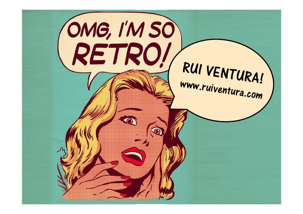 RUI VENTU www.ruive                  RA!           n   tura.com