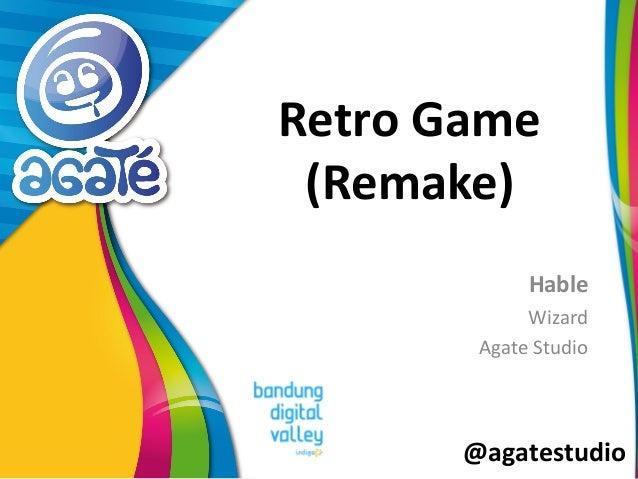 @agatestudio Retro Game (Remake) Hable Wizard Agate Studio