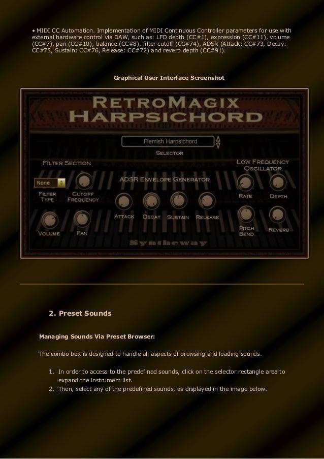 RetroMagix Harpsichord VST VST3 Audio Unit EXS24 & KONTAKT