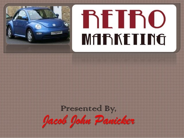 Presented By,  Jacob John Panicker