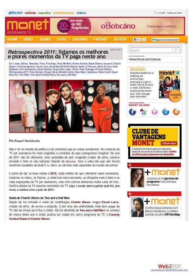 2kLike SeguirSeguir @revistamonet@revistamonet _ Por Raquel Temistocles _ Não é só no mundo da política e da economia que ...