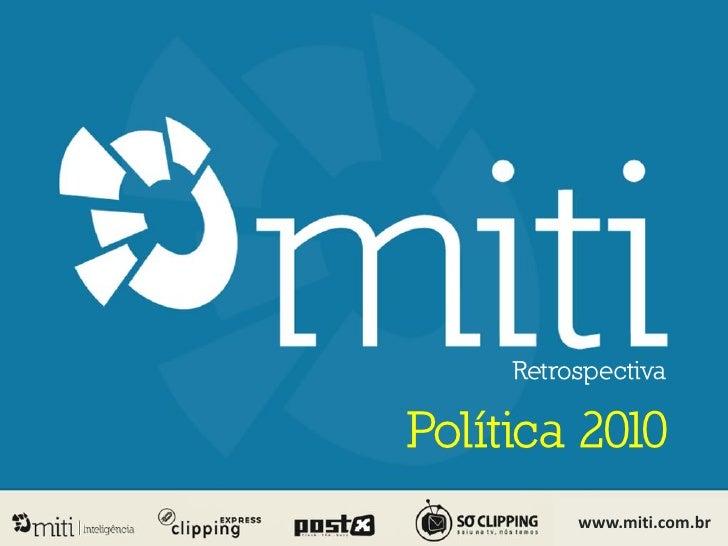 Retrospectiva: Política 2010