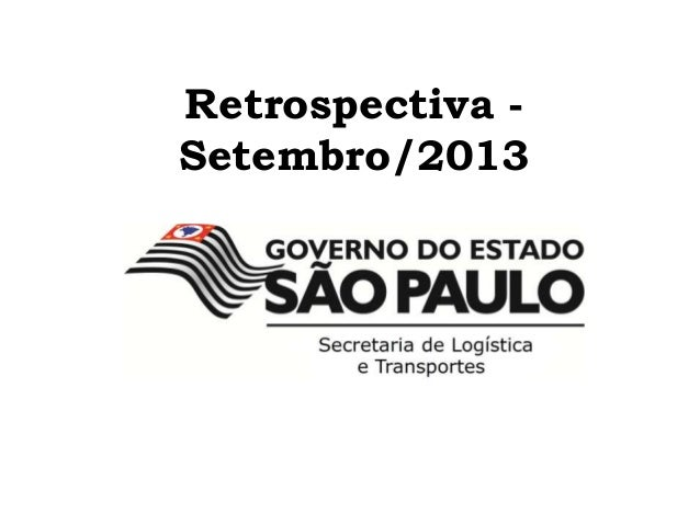 Retrospectiva - Setembro/2013