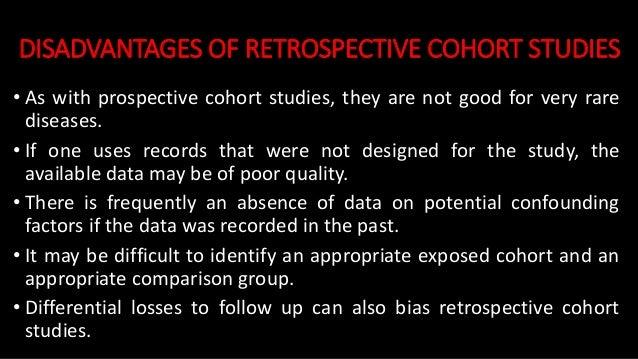 Selection bias in retrospective cohort study