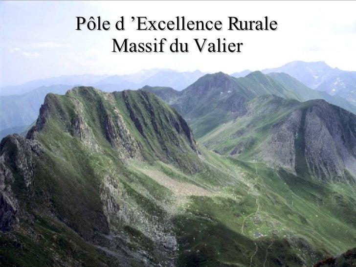 Pôle d'Excellence Rurale Massif du Valier