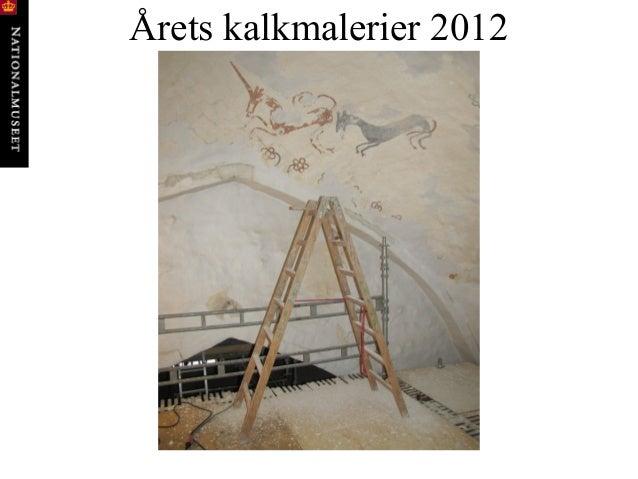 Årets kalkmalerier 2012