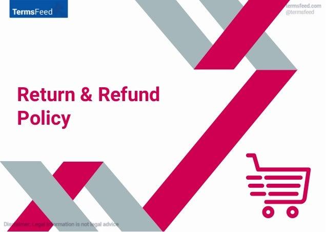 Return & Refund Policy