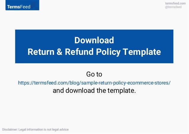 12 download return refund policy template