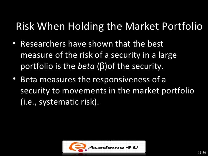 return and risk the capital asset Individual investors must be compensated for bearing risk it seems intuitive that  there should be a direct linkage between the risk of a security and its rate of.