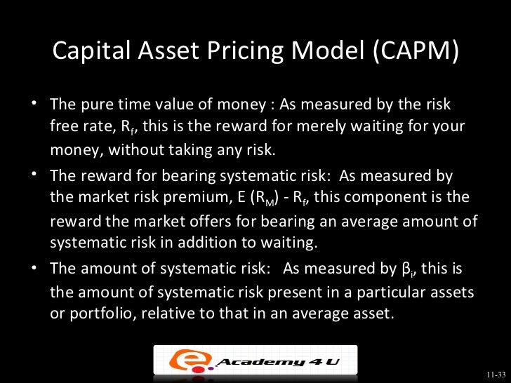 return and risk the capital asset In this article we will discuss about the return and risk on single asset  are not  assured, but it may ensure higher returns than fixed income investments but the .