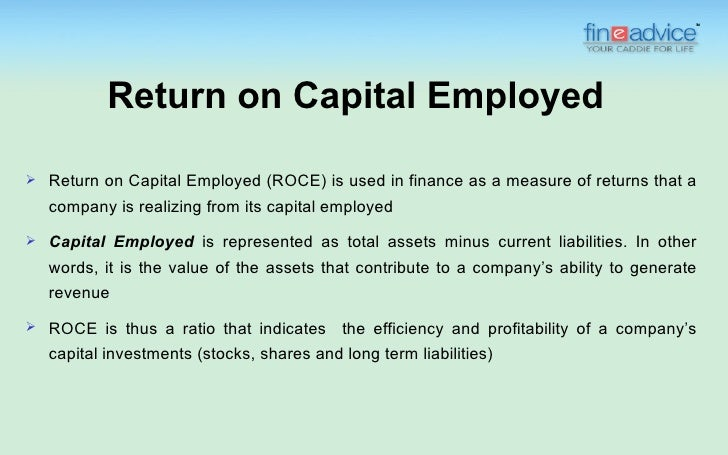 Apr 24,  · This short revision video introduces the concept of Return on Capital Employed.