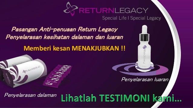 Pasangan Anti-penuaan Return Legacy Penyelarasan kesihatan dalaman dan luaran Penyelarasan dalaman Penyelarasan luaran Mem...
