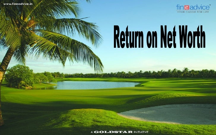 Return on Net Worth   Return on Net Worth (RONW) is used in finance as a measure of a company's    profitability.   It r...