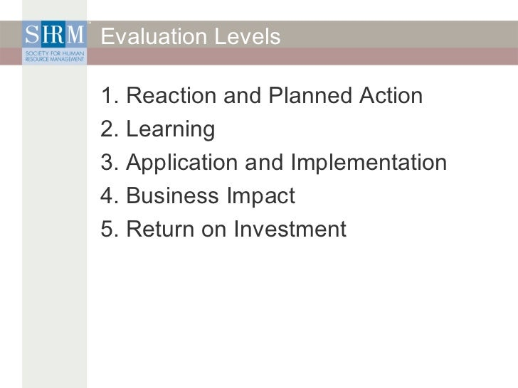 exercise return on investment Using return on investment to evaluate project management training gina westcott-abudi, mba abstract executives today.