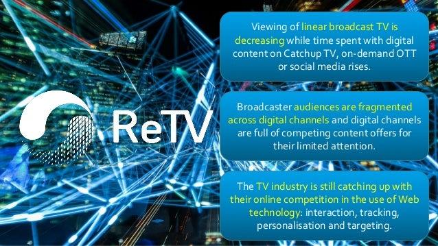 From TV to ReTV, Keynote by Lyndon Nixon at TVX 2019 @datatv  Slide 2