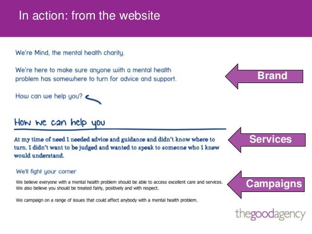 In action: from the websiteServicesCampaignsBrand