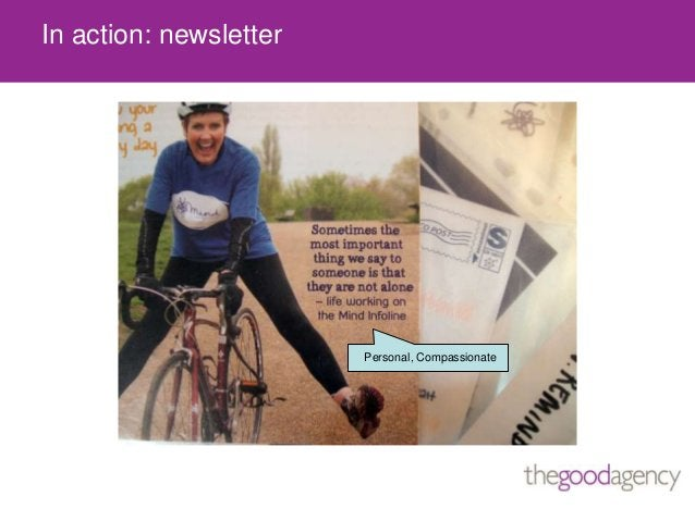 In action: newsletterPersonal, Compassionate