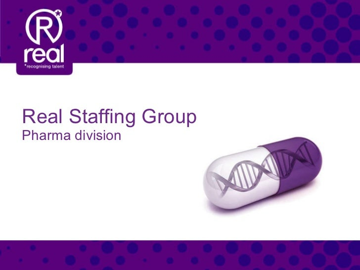 Real Staffing Group Pharma division