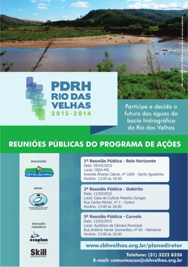 1      O  Comitê  da  Bacia  Hidrográfica  do  Rio  das  Velhas   realiza  reuniões  ...