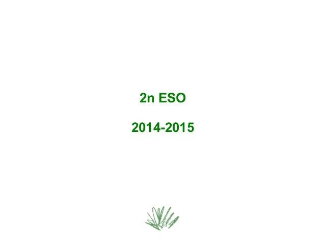 2n ESO  2014-2015