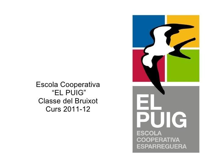 """Escola Cooperativa  """"EL PUIG"""" Classe del Bruixot Curs 2011-12"""