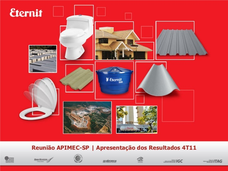Reunião APIMEC-SP | Apresentação dos Resultados 4T11