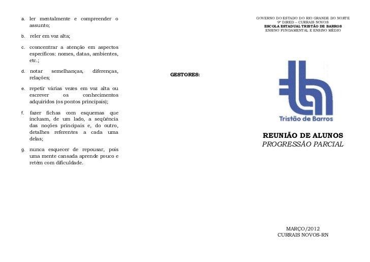 a. ler mentalmente e compreender o                       GOVERNO DO ESTADO DO RIO GRANDE DO NORTE                         ...
