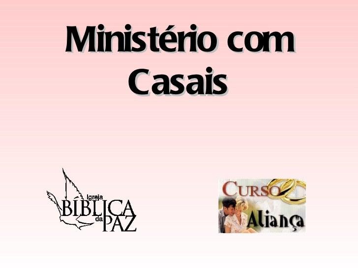 Ministério com Casais