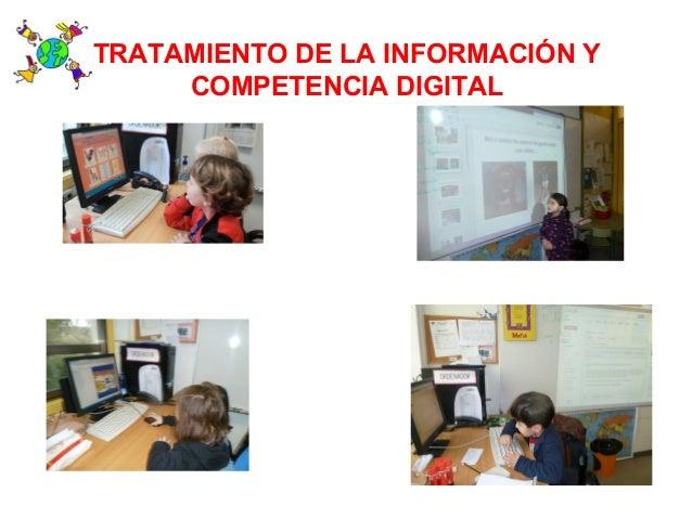 TRATAMIENTO DE LA INFORMACIÓN YCOMPETENCIA DIGITAL