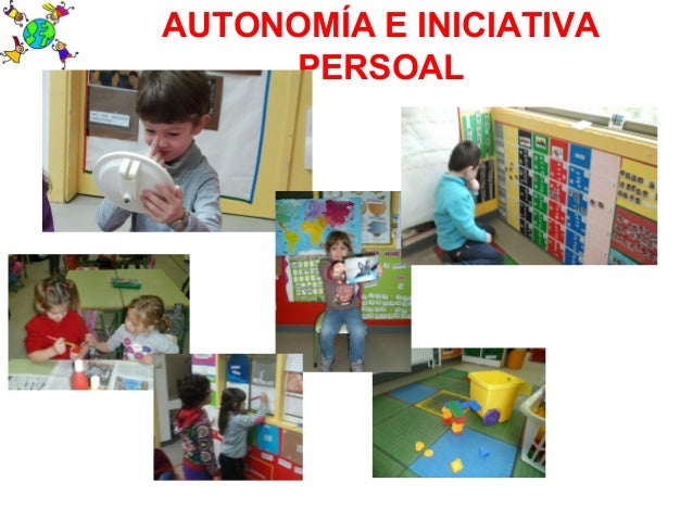 AUTONOMÍA E INICIATIVAPERSOAL