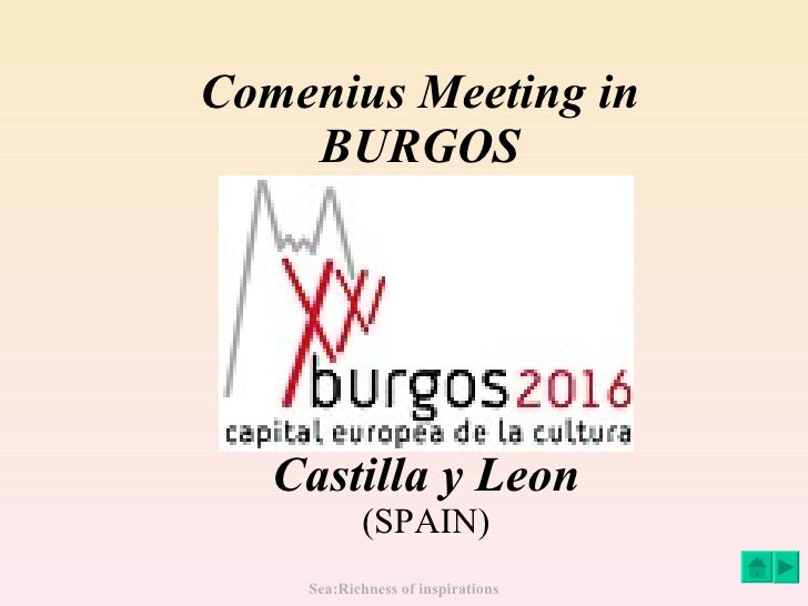 Comenius Meeting in  BURGOS  Castilla y Leon (SPAIN)