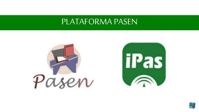 Resultado de imagen de PASEN