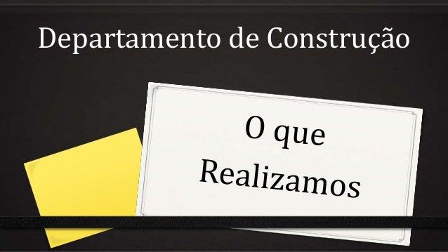 Departamento de Construção