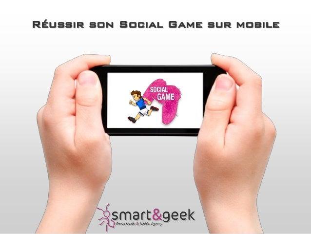 Réussir son Social Game sur mobile