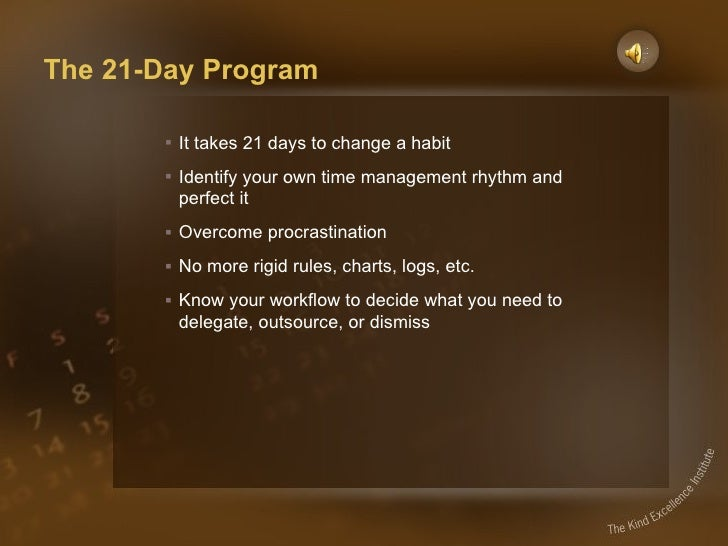 Time Management for Creative Thinkers Slide 3