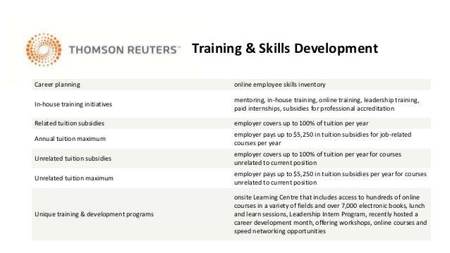 Work and life at Thomson Reuters - کار و زندگی در تامسون رویترز