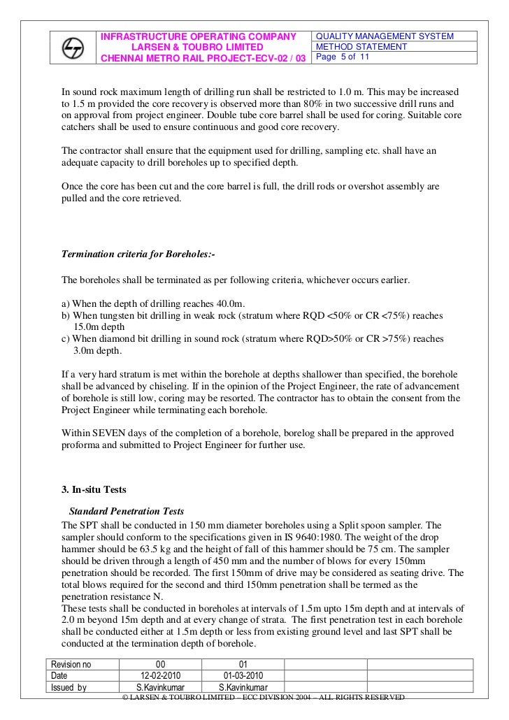 Rev 01 dt soil investigation for Soil investigation report