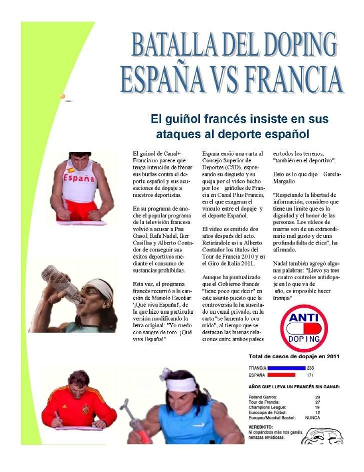 Rev   batalla doping españa vs francia (deportes) óscar mármol