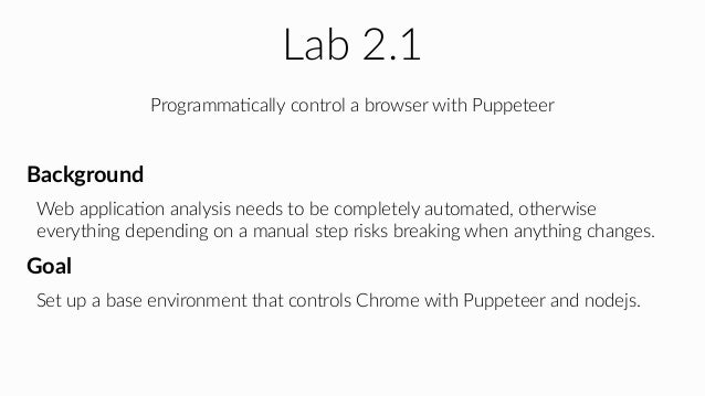 Puppeteer Click Element
