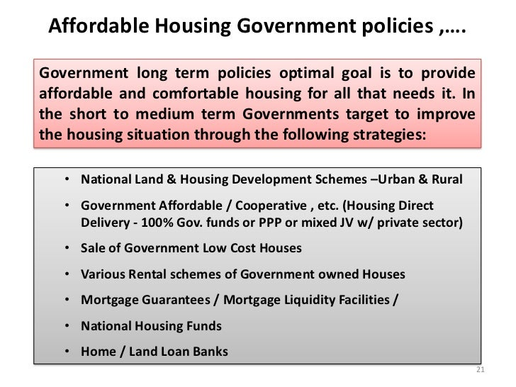 """the evolution of federal housing policy essay This essay surveys contemporary issues in american land use regulation   considered spot zoning cases using """"nebulous rules applied on an erratic   james h carr, the complex history of the federal housing administration:  building."""
