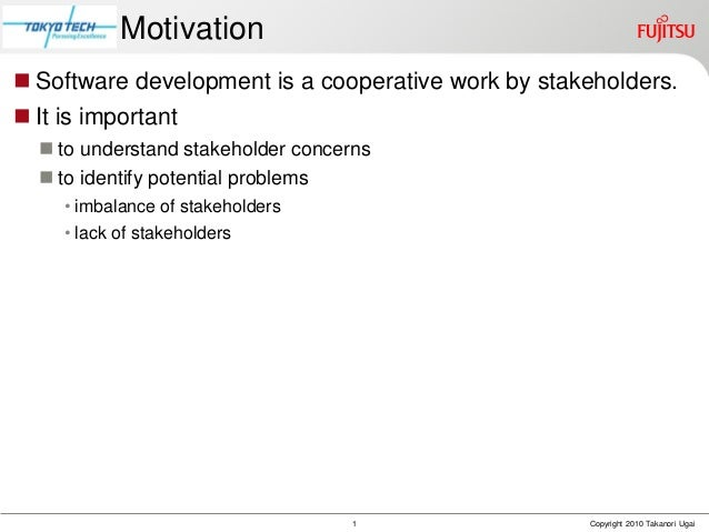Visualizing Stakeholder Concerns with Anchored Map Slide 2
