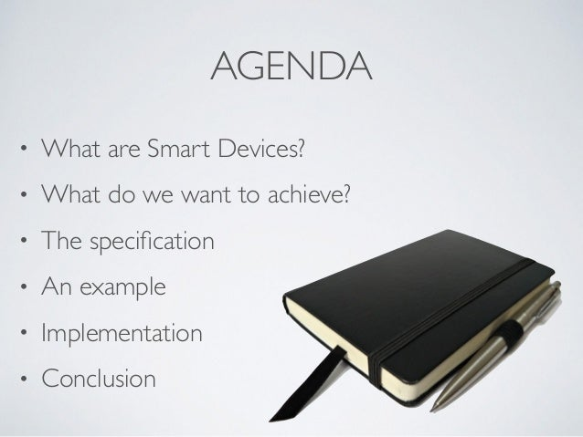 The Smart Device Specification for Remote Labs Slide 2