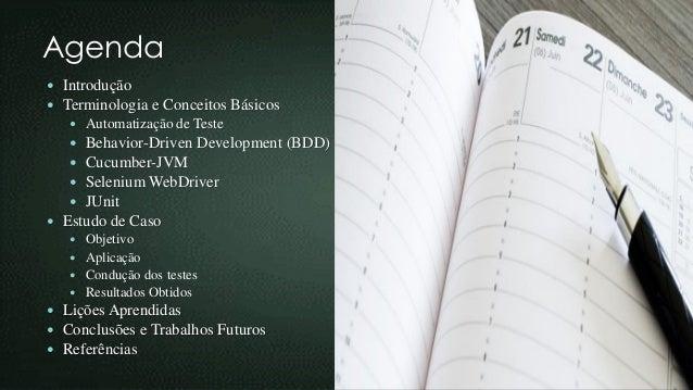 Apresentação Artigo SBQS 2015 - Um Comparativo na Execução de Testes Manuais e Testes de Aceitação Automatizados em uma Aplicação Web Slide 2