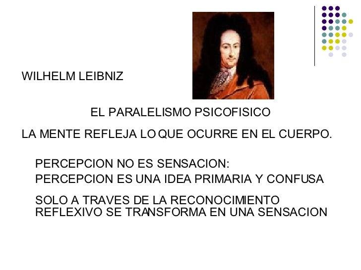 Resultado de imagem para NOTAS SOBRE O PARALELISMO PSICOFÍSICO